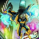 A Shocking Revelation – Static Shock Costume